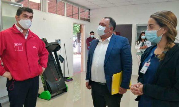 Graneros: Seremi de Salud visitó punto de vacunación COVID-19