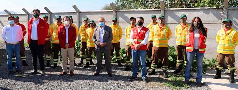 Ministro(s) de Agricultura e Intendente inauguran moderna base de brigada Conaf en Coltauco