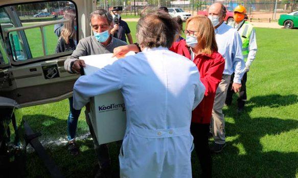 Nueva carga de vacunas Pfizer llegó a O'Higgins para iniciar la segunda etapa de inoculación