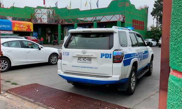PDI investiga asalto a distribuidora de licores en Rancagua