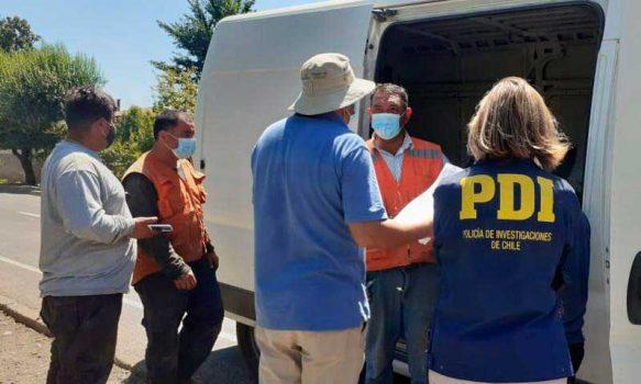 PDI O'Higgins denunció a 26 extranjeros en situación migratoria irregular