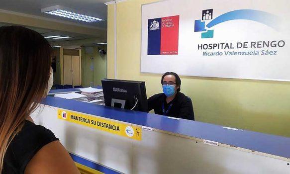 Policlínico del Hospital de Rengo mantiene atenciones médicas en cuarentena