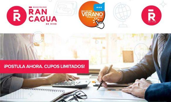 Postula a los cursos de verano implementados por la Municipalidad de Rancagua y Cormun
