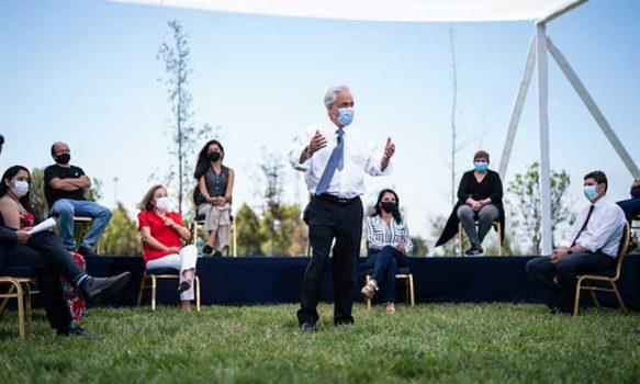 Presidente Piñera anuncia extensión del Ingreso Familiar de Emergencia y bono covid para marzo y abril