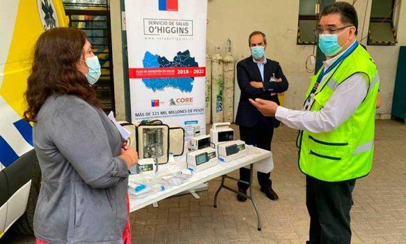 SAMU recibe nuevo equipamiento electromédico para atención de pacientes