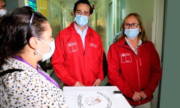 Seremi de Salud comenzó a distribuir vacunas Sinovac en la región de O'Higgins