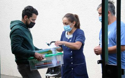 Cormun Rancagua entrega kits de útiles escolares a alumnos de 22 establecimientos educacionales