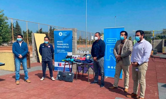 Deportistas rancagüinos de alto rendimiento recibieron implementación para su desarrollo