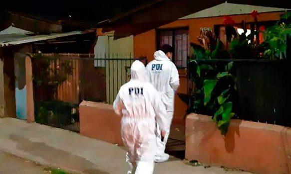 Detectives investigan homicidio y homicidio frustrado en Mostazal