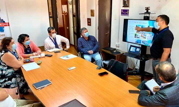 Directora de Servicio de Salud se reunió con alcalde de Rengo