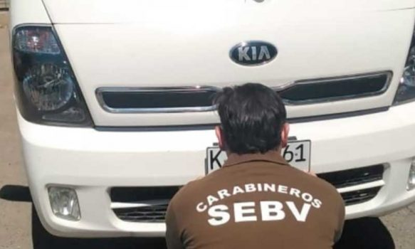 Dos camionetas robadas fueron recuperadas por la SEBV de Rancagua