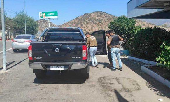 En San Bernardo, Carabineros de Rancagua detuvieron a sujeto que huía en vehículo robado