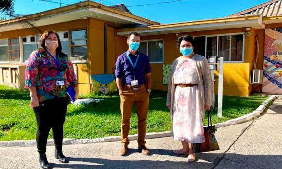 Enriquecedora jornada tuvo directora del Servicio de Salud O'Higgins en Hospital de San Vicente