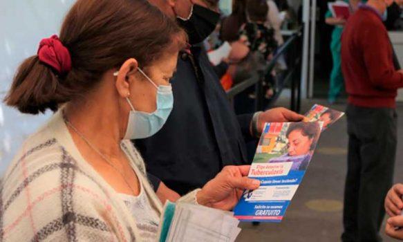 """Hospital San Fernando realiza campaña informativa """"Ganemos tiempo, puede ser tuberculosis"""""""