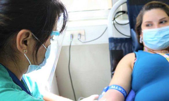 Hospital San Fernando realiza colecta de sangre de emergencia por falta de stock