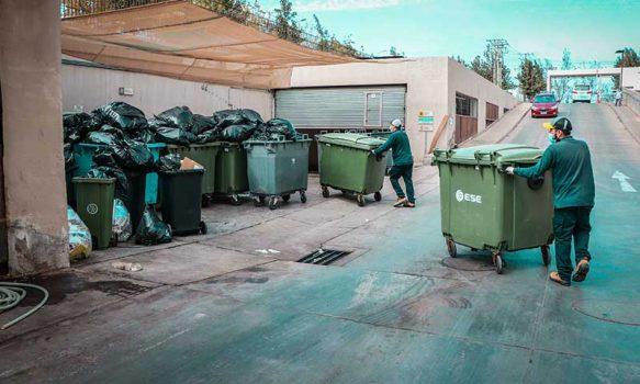 HRLBO elimina 4 mil kilos semanales de residuos especiales asociados a la pandemia