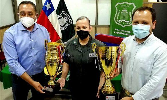 IND entrega implementación deportiva a Gendarmería de Chile