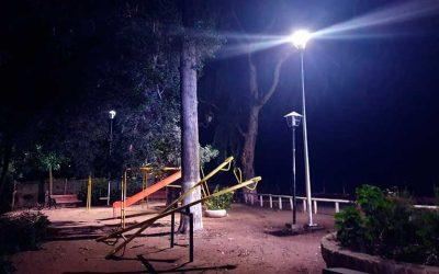 Palmilla: Se inició ejecución de segunda etapa de reposición de luminarias públicas