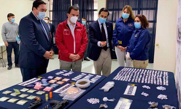 PDI detuvo a cinco personas en amplio operativo realizado San Fernando