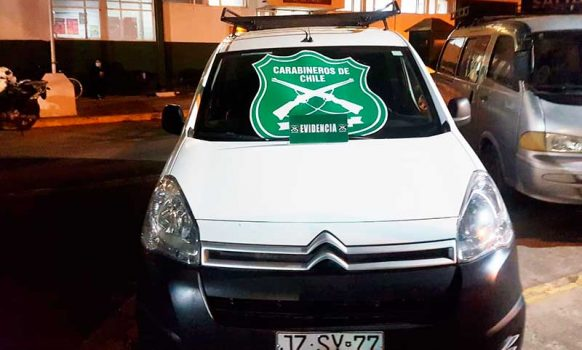 Carabineros detuvo a sujeto por receptación de vehículo motorizado con encargo vigente en San Fernando