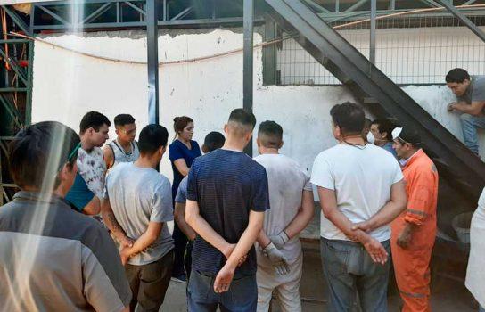 Directora regional de Gendarmería visitó cárcel de Rengo para recordar medidas de seguridad a internos y funcionarios