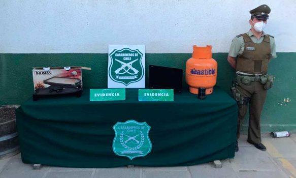 Hermanos fueron detenidos por robo en Pichilemu