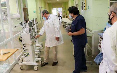 Minsal envía ventiladores mecánicos, cánulas nasales y camas para apoyar labor del Hospital Regional