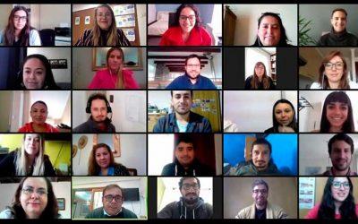 Minvu O'Higgins realiza taller de redes sociales a profesionales de los programas Quiero Mi Barrio y Pequeñas Localidades