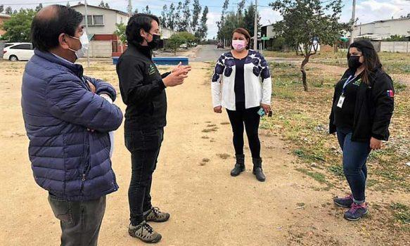Obra de Confianza del Barrio Manuel Rodríguez y Villas Cosme cuenta con un 20% de avance