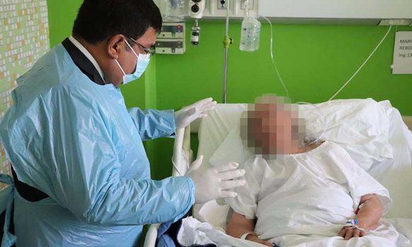 Pacientes del Hospital Regional reciben acompañamiento espiritual