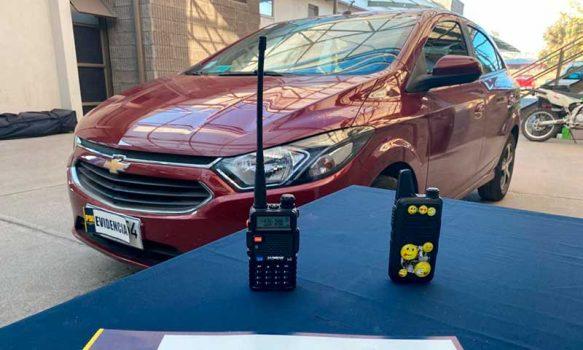 PDI detuvo sujetos que robaban autos utilizando inhibidores de señal