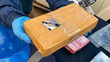 PDI incautó cocaína avaluada en más de 3.700 millones