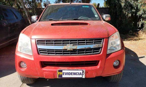 PDI recuperó camioneta que tenía encargo por robo