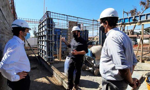 Seremi Obras Públicas y director nacional Arquitectura destacan el avance de la cartera de proyectos 2021