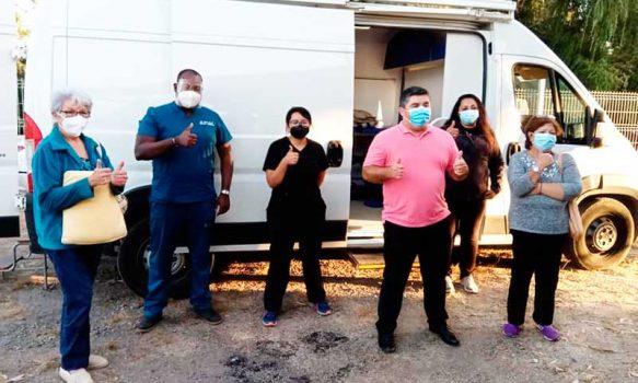 Trasladaron equipo médico-jurídico a localidad de Llallauquén