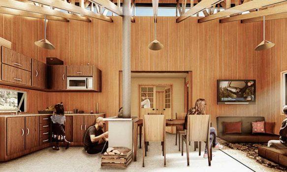Viviendas de madera inspiradas en hábitat de abejas se construirán en Santa Bárbara