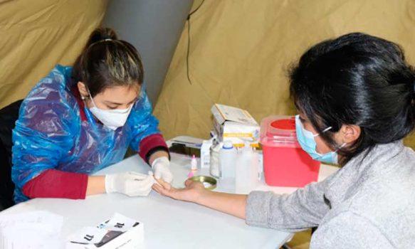 Alta participación en estudio de anticuerpos realizado a usuarios y funcionarios del Hospital San Fernando