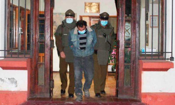 Carabineros de Peumo detuvieron a sujeto por Homicidio