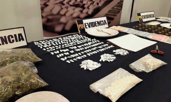Desbaratan puntos de venta de droga en Santa Cruz