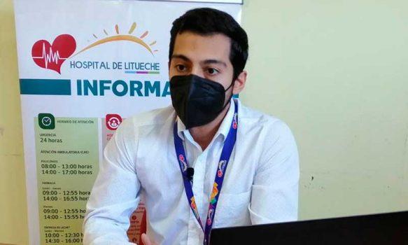 """Director Hospital de Litueche: """"El 2020 estuvo marcado por el tremendo trabajo de nuestros funcionarios"""""""