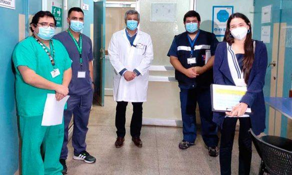 """Fernando Millard: """"Estamos dando un apoyo técnico muy concreto a las unidades de pacientes críticos"""""""