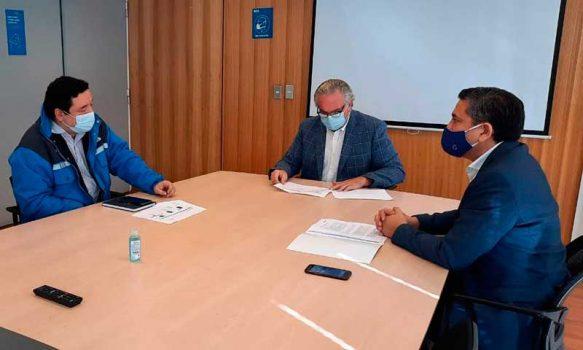 Gerente de Essbio presentó a MOP O'Higgins el Plan de Inversiones 2021-2025
