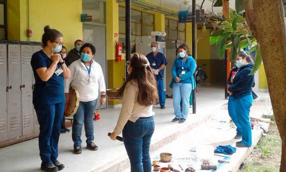 Hospital de Coinco recibe intervención de Sonoterapia