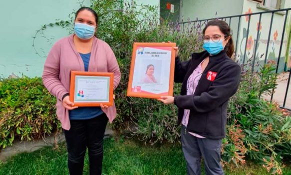 Hospital de Marchigüe destaca a la Funcionaria del Mes