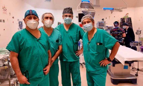 Hospital Regional Rancagua realiza con éxito su primera cirugía de osteodistracción mandibular