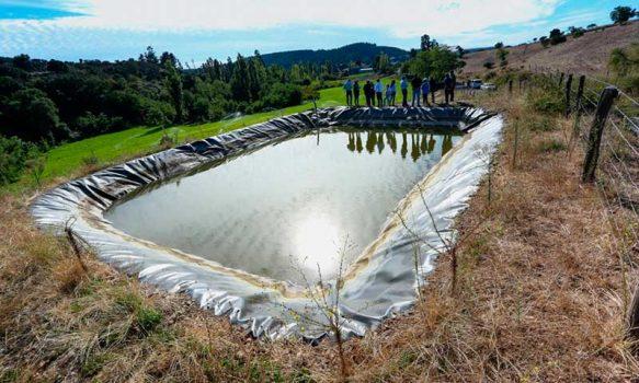 Indap anuncia histórico presupuesto de riego para la pequeña agricultura en su cuenta pública