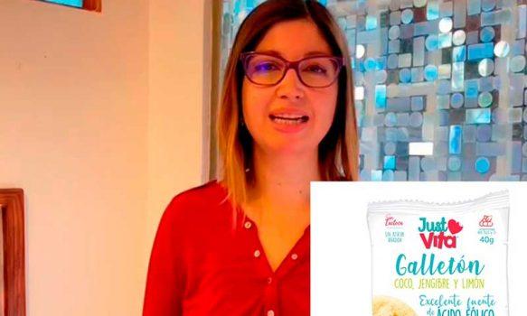 Mamá emprendedora crea súper galletón con vitaminas