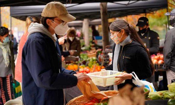 Más de 2.200 agricultores son protagonistas de los mercados campesinos a lo largo del país