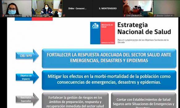 Nuevos profesionales de salud serán capacitados en respuesta ante emergencias por Servicio de Salud O'Higgins