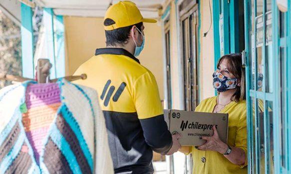 Rancagüinos aumentaron 113% la demanda de envíos courier durante 2021